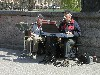 Latvia / Latvija - Riga / RIX: senior street musicians (photo by Alex Dnieprowsky)