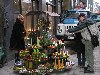 Latvia / Latvija - Riga / RIX : buying Christmas candles and decorations (photo by Alex Dnieprowsky)
