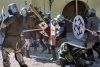 Ventspils: the battle rages on - medieval festival (photo by A.Dnieprowsky)