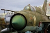 Latvia / Latvija - Riga: aviation museum - Soviet fighter - Mikoyan-Gurevich Mig-21 MF 'Fishbed' - aircraft (photo by Alex Dnieprowsky)