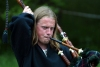 Latvia - Cesis: bagpipe performer - musician playing - bagpiper - medieval festival (Cesu Rajons - Vidzeme) (photo by A.Dnieprowsky)