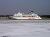 Latvia / Latvija - Riga: Silja line cruise ship (photo by Alex Dnieprowsky)