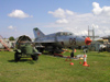 Latvia / Latvija - Riga: aviation museum - Soviet fighter - Mikoyan-Gurevich MiG-21 twin-seat (photo by Alex Dnieprowsky)
