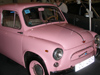 Latvia / Latvija - Riga: pink Zaporozhec, car made by ZAZ or Zaporizhia Automobile Building Plant - Soviet automobile manufacturer from Zaporizhzhya, Ukraine (photo by Alex Dnieprowsky)