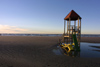 Latvia - Ventspils: beach playground (photo by A.Dnieprowsky)