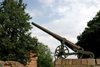 Latvia / Latvija - Daugavpils: fortress - old Russian gun (photo by A.Dnieprowsky)