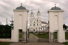 Latvia / Latvija - Aglona Basilica: gate / bazilica (photo by Alex Dnieprowsky)