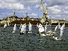 Latvia - Ventspils: regatta  - monohull dinghies (photo by A.Dnieprowsky)