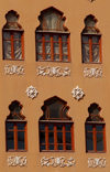 Lebanon / Liban - Beirut: elegant windows - Lebanese architecture (photo by J.Wreford)