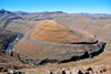 Mohale Dam, Lesotho: meander of the Senqunyane River, downstream from the dam - photo by M.Torres