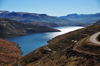 Mohale Dam, Lesotho: the reservoir - water for the mining industry of Gauteng province - photo by M.Torres