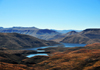 Mohale Dam, Lesotho: reservoir seen from the mountains - Lesotho Highlands Water Project (LHWP) - photo by M.Torres