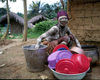 Grand Basa County: secret society girl - doing the dishes (photographer: Mona Sturges)