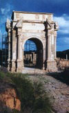Libya - Leptis Magna: arch honouring  Emperor Septimus Severus (photo by G.Frysinger)