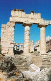 Libya - Cyrene (Shahhat): temple of Zeus (photo by G.Frysinger)