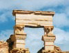 Libya - Leptis Magna / Lepcis Magna (Al Khums): detail of the winged Griffins - Unesco world Heritage (photo by G.Frysinger)