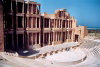 Libya - Sabratha: the theatre - view from the last row (photo by M.Torres)