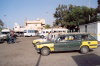 Libya - Zuara / Zwarah: shared taxis on the main square (photo by M.Torres)