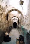 Libya - Tripoli: blind alley - the Medina (photo by M.Torres)