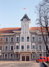 Siauliai, Lithuania: City Hall - Vasario st. - Rotuse - Samogitia region - photo by M.Torres