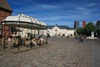 Lithuania - Klaipeda: Theatre square - pedestrian area - photo by A.Dnieprowsky