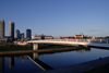 Lithuania - Vilnius: new business area, across the river Neris - photo by Sandia