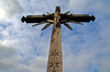Siauliai, Lithuania: Hill of Crosses - Christ and the sky - photo by J.Pemberton