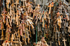 Lithuania / Litva - Siauliai: Hill of crosses - Kry�iu Kalnas - crosses and rosaries - photo by J.Pemberton