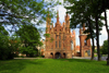 Lithuania - Vilnius: St. Ann's Church and garden - photo by A.Dnieprowsky