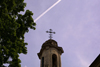 Lithuania - Vilnius: cross and sky - photo by A.Dnieprowsky