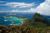 Lord Howe island: covered in green - Unesco World Heritage site (Australia) - photo by R.Eime