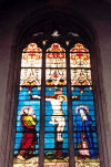 Luxembourg Ville / LUX: Notre Dame Cathedral - stained glass (photo by M.Torres)