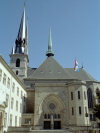 Luxembourg City / LUX : Cathedral of the Blessed Virgin (photo by M.Bergsma)
