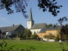 Luxembourg - Colpach: countryside church (photo by P.Willis)