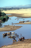 Toliara province, Madagascar: River Mandrare - trade near Fort Dauphin - photo by R.Eime