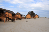 Morondava - Menabe, Toliara province, Madagascar: bungalows on the beach - Nosy Kely peninsula - photo by M.Torres