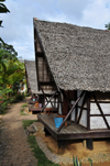 Andasibe, Alaotra-Mangoro, Toamasina Province, Madagascar: thatched roof bungalows await the tourists - photo by M.Torres