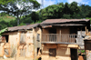 RN2, Alaotra-Mangoro region, Toamasina Province, Madagascar: ghost houses on the edge of the forest - photo by M.Torres