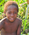 Bekopaka, Antsalova district, Melaky region, Mahajanga province, Madagascar: Sakalava boy on a maize field - photo by M.Torres