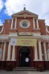 Antananarivo / Tananarive / Tana - Analamanga region, Madagascar: St Joseph's Catholic church - Florentine style - photo by M.Torres