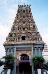 Malaysia - Johor Bahru / JHB : Hindu Temple (photo by M.Torres)