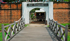 Fort Cornwallis - entrance - bridge, Penang, Malaysia.  photo by B.Lendrum