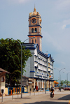 Penang city architecture - clock tower, Penang, Malaysia.  photo by B.Lendrum
