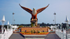 Eagle Square, Dataran Lang, Langkawi, Malaysia, photo by B.Lendrum