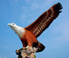 Eagle Square - flight, Dataran Lang, Langkawi, Malaysia, photo by B.Lendrum