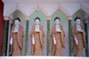 Malaysia - George Town - Penang / Pinang / Prince of Wales island / PEN: Buddhas with swastikas on their chests (photo by J.Kaman)