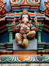 Kali Amman Temple - the gentle Lord Ganesh, Pulau Pankor Island, Malaysia. photo by B.Lendrum