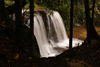 Lambir Hills National Park, Sarawak, Borneo, Malaysia: waterfall in the dense tropical forest - photo by A.Ferrari