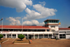 Blantyre, Malawi: Chileka International Airport (IATA BLZ, ICAO FWCL), passenger terminal and control tower - photo by M.Torres