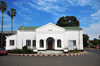 Blantyre, Malawi: Old Town Hall, Victoria Hall - arches and whitewashed facade - Victoria Avenue - photo by M.Torres